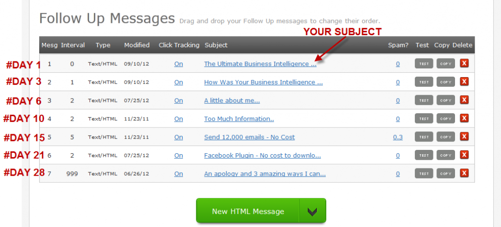 How to build an email list - autoresponders