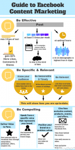 Facebook For Business Tips #INFOGRAPHIC