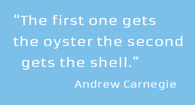 Andrew Carnegie Business Quotes