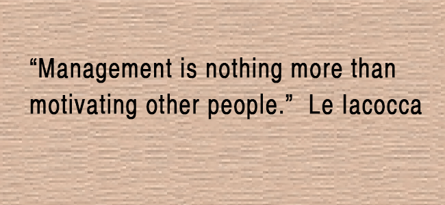 quotes about management